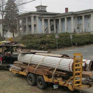 Antique Columns for Sale - OldWoodWorkshop, LLC